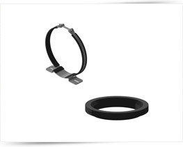 Clamp Band & Support Ring